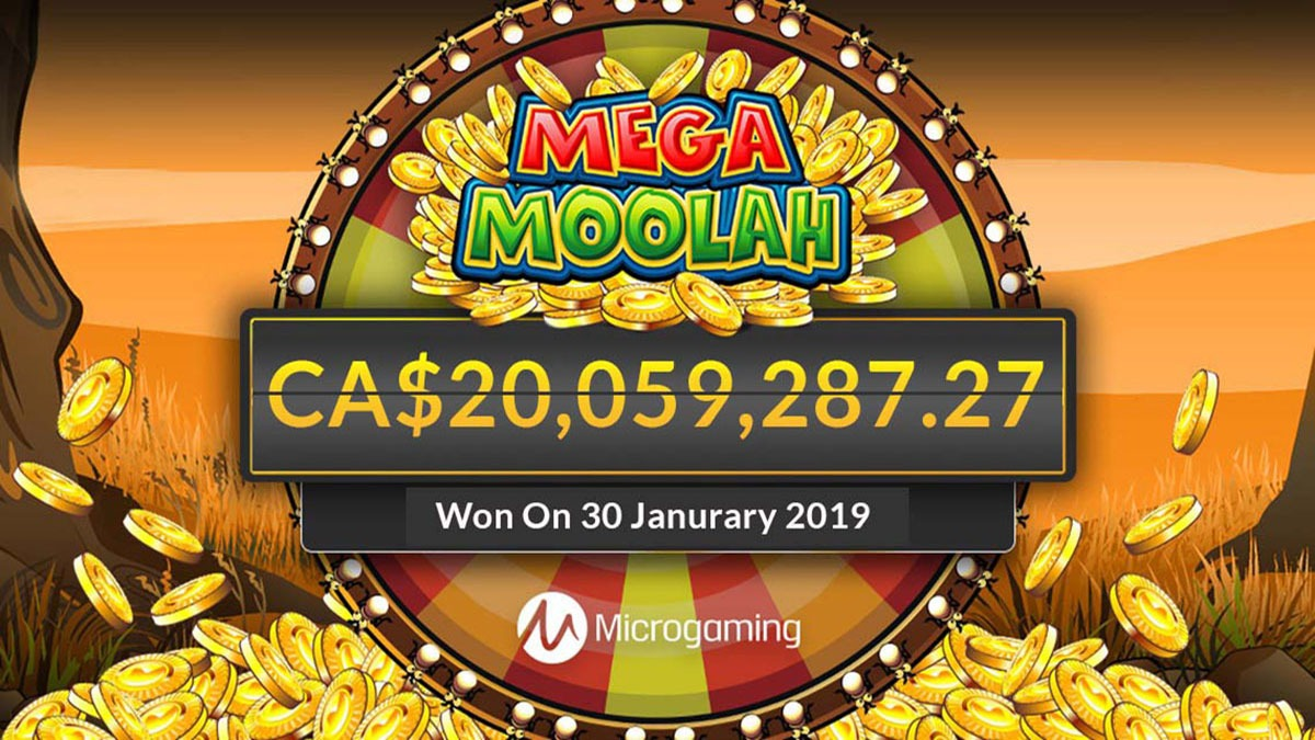 Mega Moolah 20 Million Win